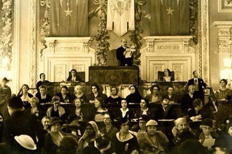 Uluslararası Kadın Kongresi (Yıldız Sarayı, 1935) #istanbul #istanlook