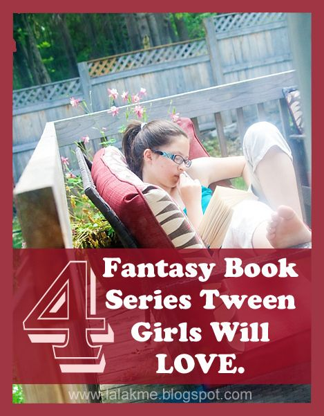 Four Fantasy Book Series Tween Girls Will Love by lalakme, via Flickr