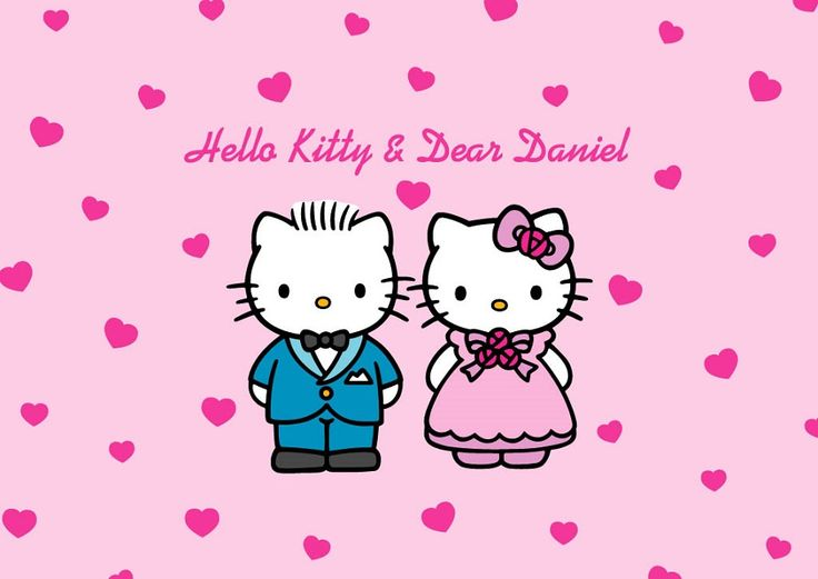 Hello Kitty Wedding Coloring Pages