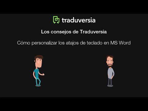 Cómo personalizar los atajos de teclado en MS Word