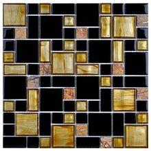 Кристалл стеклянная Мозаика, мозаики кристаллического стекла непосредственно от Цзянмэнь города Uaro Арт-Мозаика ООО. в Китае (материк)