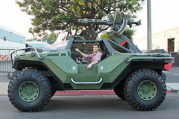 Real Life Halo Warthog