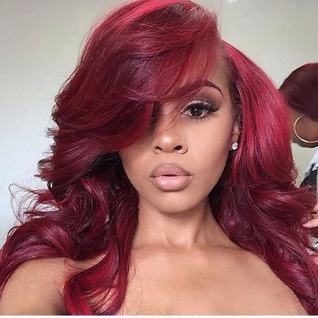 Black Women Red Hair Color | www.pixshark.com - Images ...