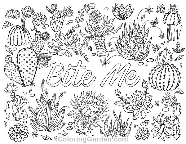 bite me adult coloring page adult coloring pagesart therapyfree printablechest
