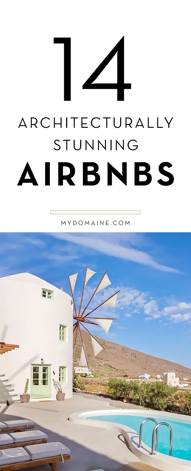 The coolest Airbnb's in the world