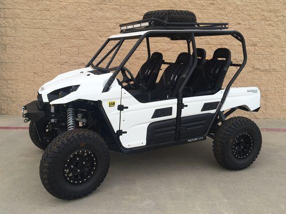 Magnum Offroad Kawasaki Teryx 4 Explorer Series Roll Cage System Roll Cage Kawasaki Custom Golf Carts