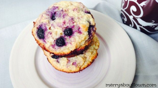 Delicious Lime Blueberry Muffins - Merry About Town