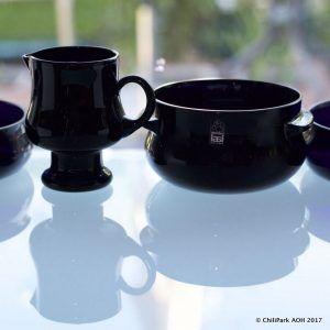 Black glass, Sesi, Siiroinen, Riihimäen lasi, finnish glass