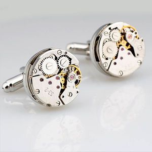 Round Watch Mechanism Cufflinks - Not on the Highstreet