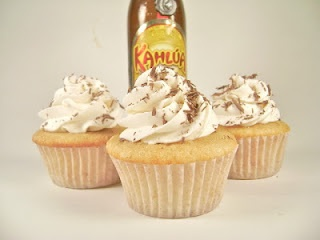28 drunken cupcakes!!   alcohol + cake = heaven! :) not sure if I will ever bake these but they look amazing
