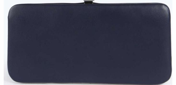 boohoo Maisy Clip Side Purse - navy azz18334 Bring your accessories a- game in the perfect bag for those everyday essentials and night out necessities. Printed backpacks make any outfit pop, shoppers are chic and cross body bags fuss-free for wh http://www.comparestoreprices.co.uk/fashion-accessories/boohoo-maisy-clip-side-purse--navy-azz18334.asp