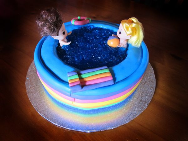 1000 Images About Birthday Cake And Party Ideas On Pinterest Swimming Pool Cakes Party Cakes
