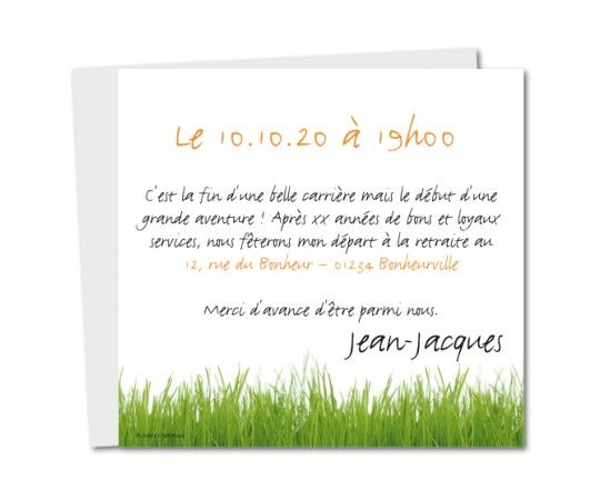 20 best carte invitation d 233 part 224 la retraite images on invitations new and