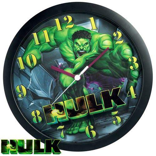 Reloj de pared El Increíble Hulk | Relojes de Pared