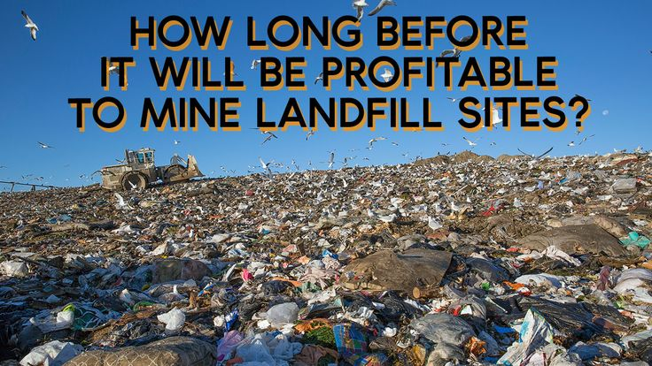 | How long before it will be profitable to mine landfill sites?