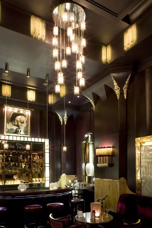 The Gilded Rage | The Fumoir Bar at Claridge's Hotel, London.