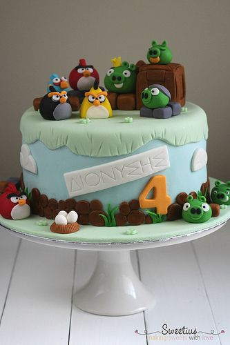 Angry birds cake 2