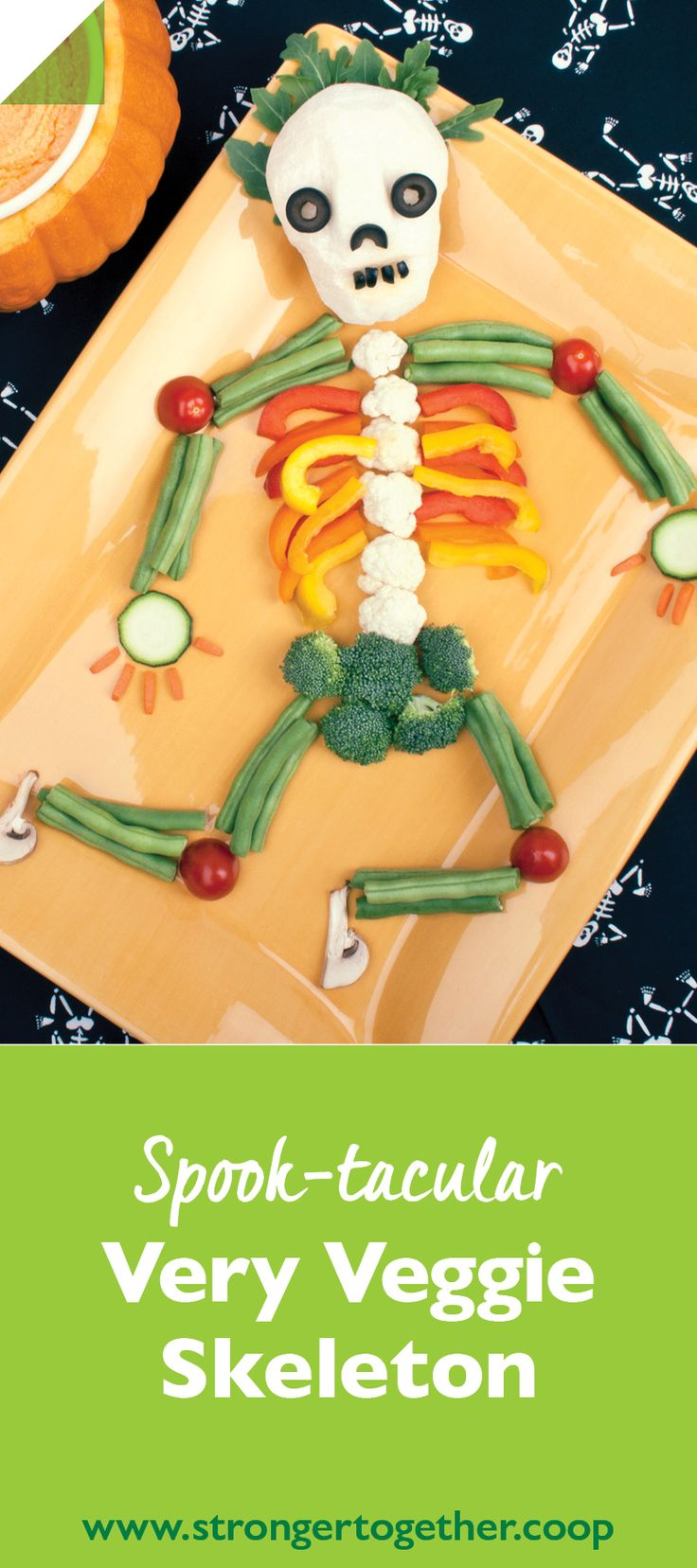 It's so good, it's scary. Kids will love making and eating this healthy Halloween snack. Find the ingredients at your local co-op!