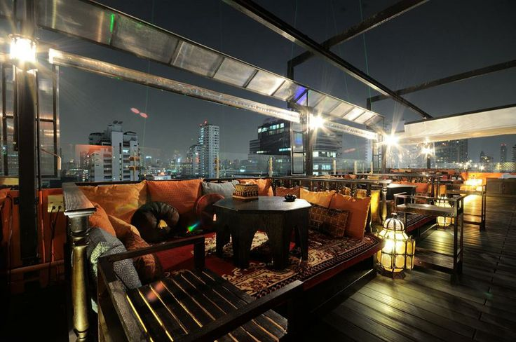 Have you had too much fun this weekend? Tone it down and have a chillaxing evening on the rooftop of the Opus Building, Thonglor 10.. BANGKOK