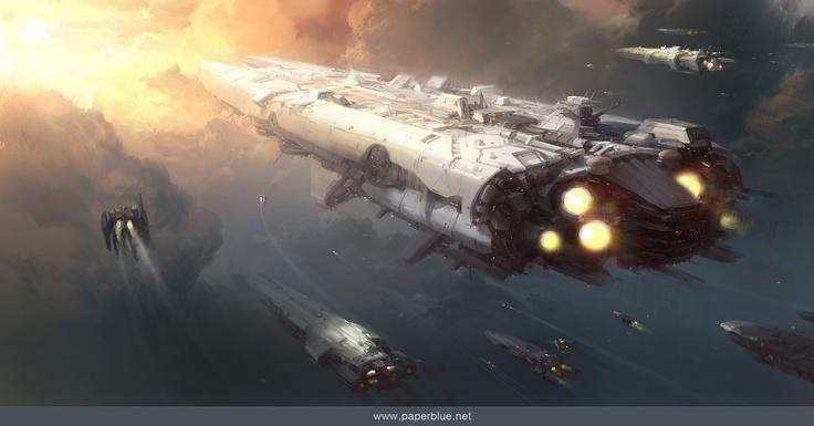 space battle ship