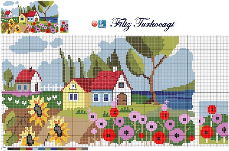 İsterseniz bahçe ile de ilgilenebiliriz, ne dersiniz ?:))) Haydi bakalım kaldığımız yerden devam ediyoruz :)) Designed by Filiz Türkocağı...