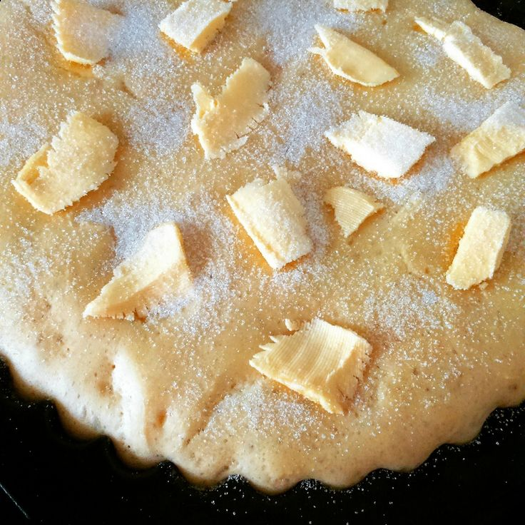 Tarte au sucre - Thermomix