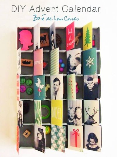Pirouette diy advent calendar by Zoe de Las Cases