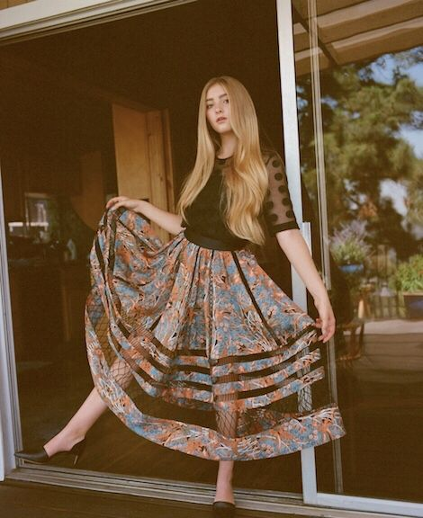 Willow Shields wonderland magazine