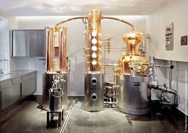 Unique distillates. Distilling equipment, Distillery
