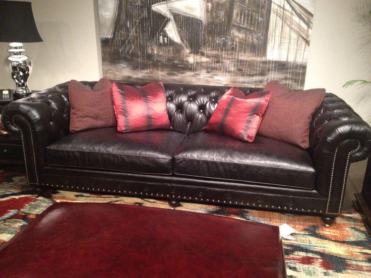 M s de 17 ideas fant sticas sobre sof s de cuero negro en - Sofa cuero negro ...