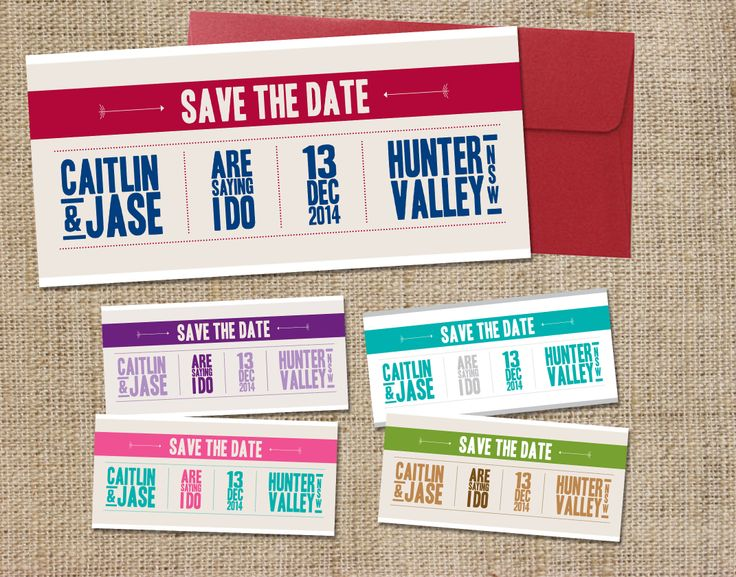 Saying I do - Save the Date www.youroneandonly.com.au