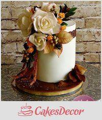 Тема CakesDecor: Осенние Торты - CakesDecor