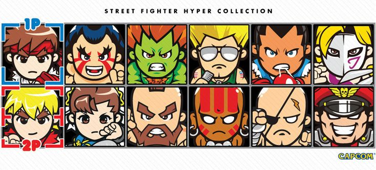 STREET FIGHTER HYPER COLLECTION