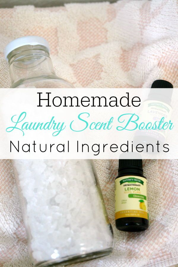 Diy Natural Laundry Scent Booster Retro Housewife