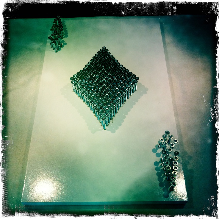 "Cli Stone Art, Card Series, ""Ace of Diamonds Screw Convex"" www.clistone.com"