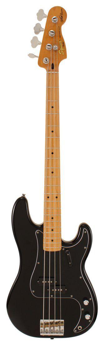 Fender Squier Matt Freeman Precision Electric Bass Guitar Black | Rainbow Guitars
