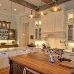 Industrial rustic lighting kitchen traditional with recessed lighting pot filler