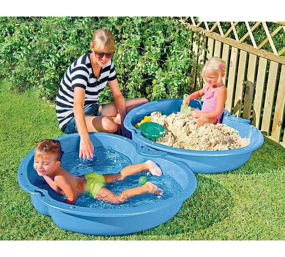 Buy Chad Valley Blue Sand and Water Pit at Argos.co.uk, visit Argos.co.uk to shop online for Water toys and games, Paddling pools and water games, Outdoor toys, Toys