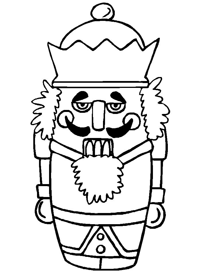 Christmas 73 Coloring Page For Kids And Adults From Cartoons Pages Colouring Books Nutcrackers