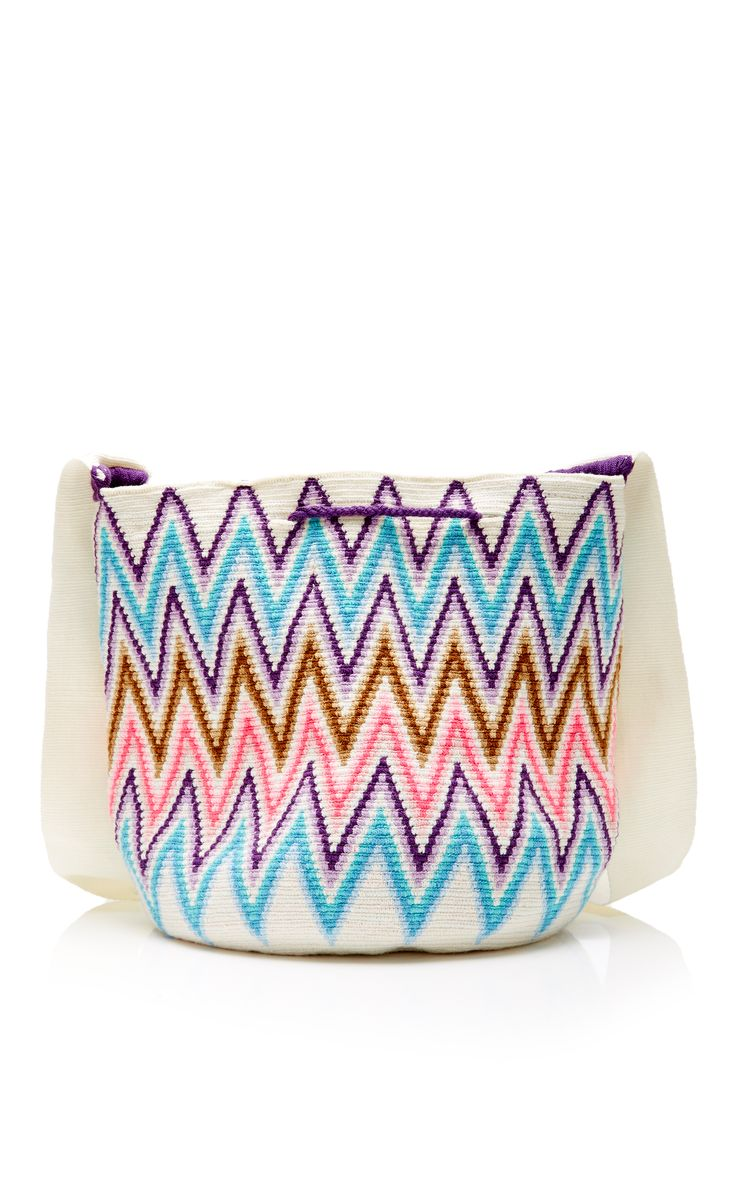 Lilla Cotton Woven Bucket Bag by SOPHIE ANDERSON Now Available on Moda Operandi