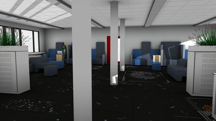 Portfolio - Brobbel Interieur #kantoor #design #3d #visualisatie #interieurontwerp #realisatie
