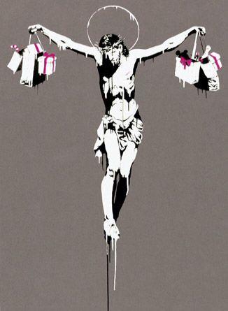 Banksy. Controversial art.
