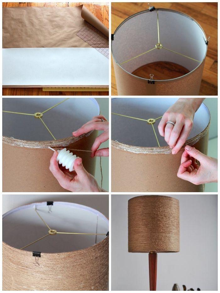 1001 Ideen Und Anleitungen Wie Sie Lampen Selber Machen Lampen Selber Machen Lampenschirm Stehlampe Lampenschirm Selber Machen