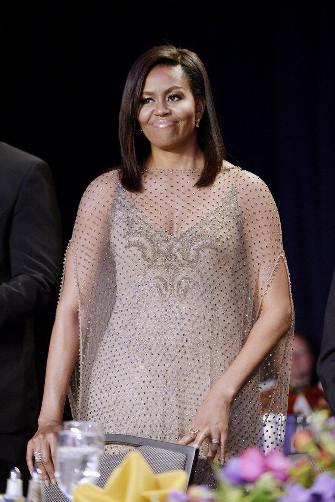 Michelle Obama looked amazing at the White House Correspondents' Dinner 2016 - click to see what everyone else wore.