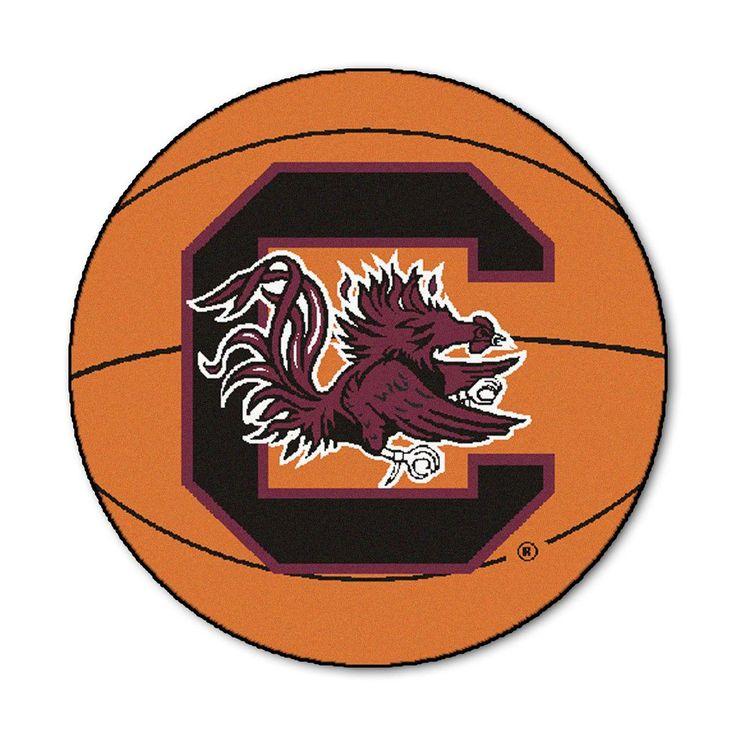 South Carolina Gamecocks Basketball Area Rug
