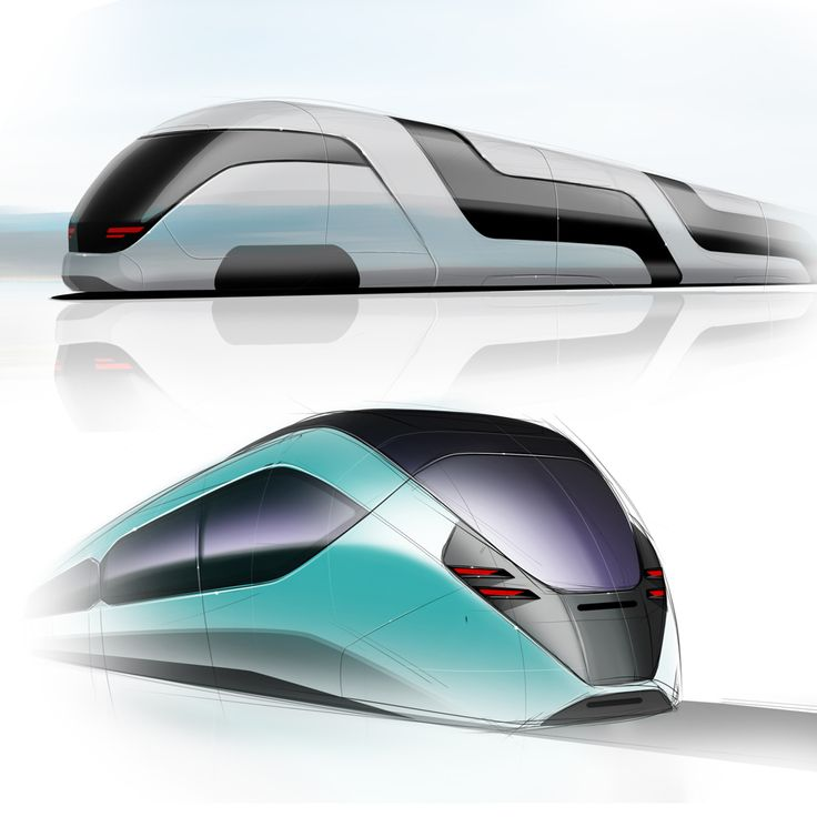 Train sketches by Samir Sadikhov www.samirsadikhov.com