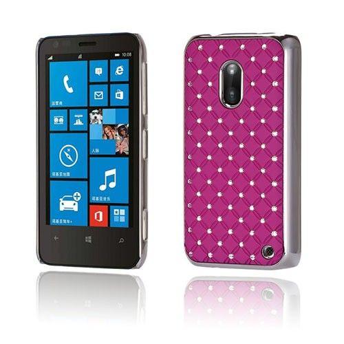Stars (Violetti) Nokia Lumia 620 Suojakuori - http://lux-case.fi/stars-violetti-nokia-lumia-620-suojakuori.html