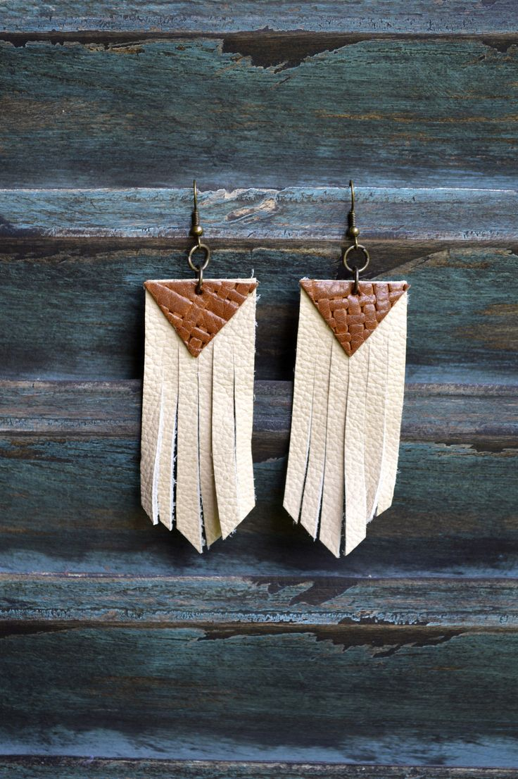 Handmade Leather Earrings From Thailand #115 · Purchase Effect · Online  Store Powered By Storenvy