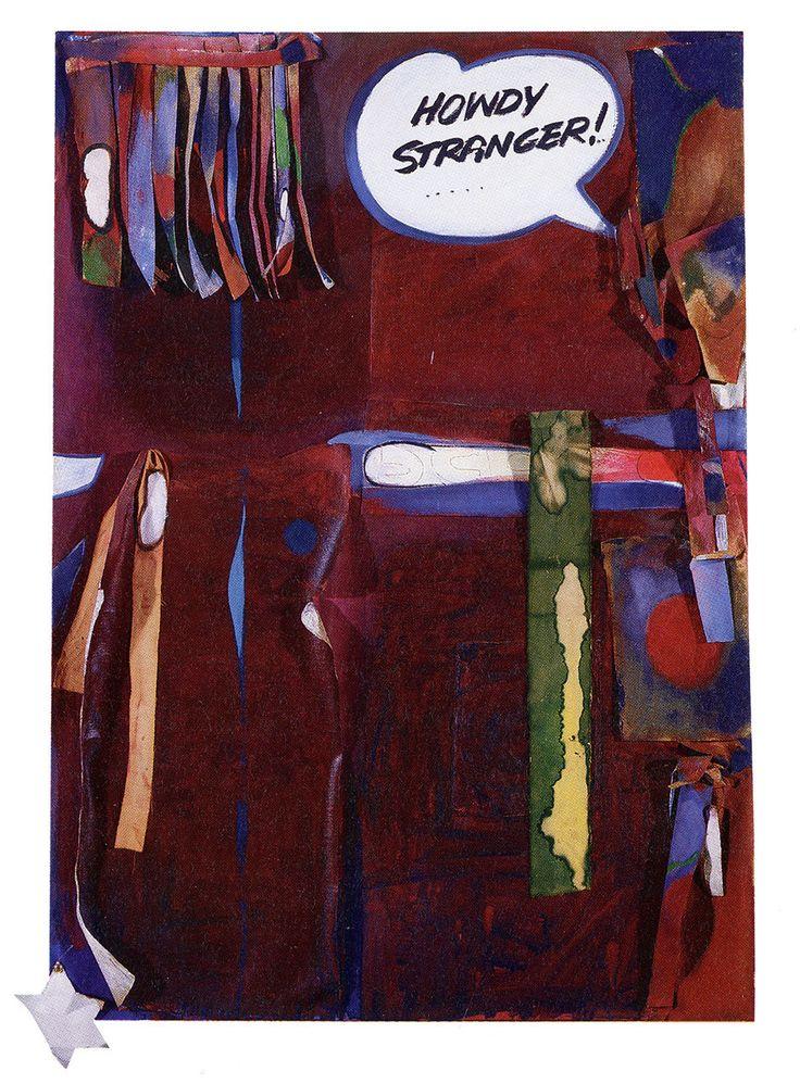 "Joyce Wieland, ""Stranger in Town,"" 1963, collection unknown. #ArtCanInstitute"