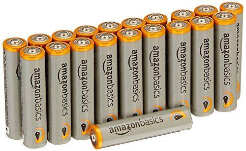 AmazonBasics AAA Performance Alkaline Batteries 20 Count